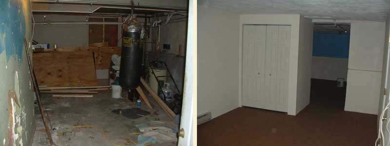 Basement (Before U0026 After):